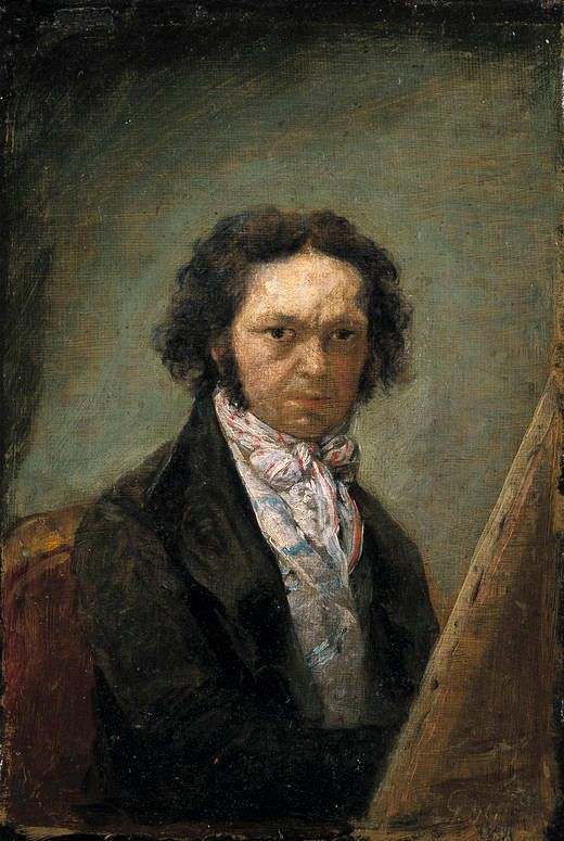 Francisco Goya, Self-portrait,1796-1797
