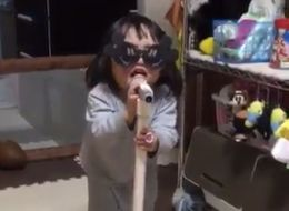 Little Girl Has Priceless Reaction When Her Brother Interrupts Her Song