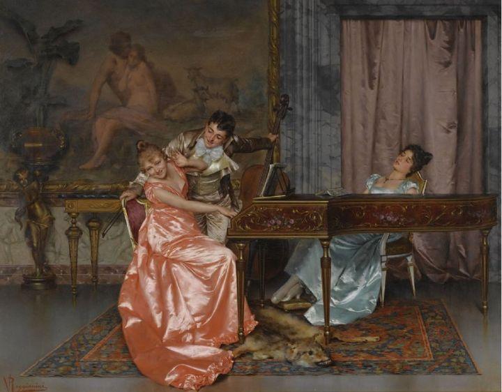 "Vittorio Reggianini, ""Rococo<i>,""&nbsp;</i>1938"