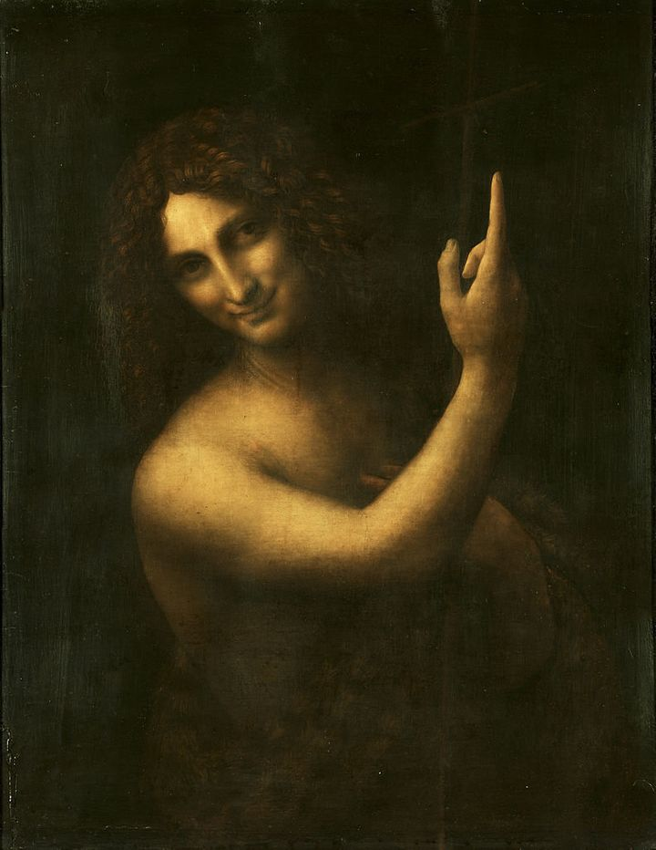 "Leonardo da Vinci, ""Saint John the Baptist,""1513-1516"