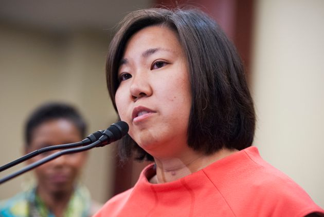 """Rep. Grace Meng (D-N.Y.) fought to removethe term""""Oriental"""" fromall official..."""
