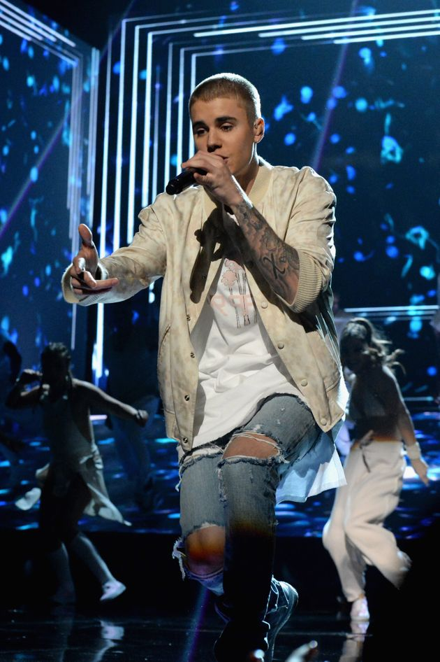 Justin Bieber at the Billboard Music