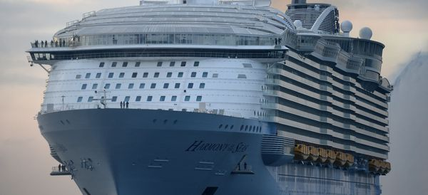 The World's Largest Cruise Ship Is Basically Its Own City