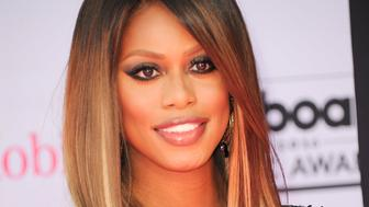 Laverne Cox at Billboard Music Awards held at the T-Mobile Arena in Las Vegas, NV, USA, May 22, 2016.