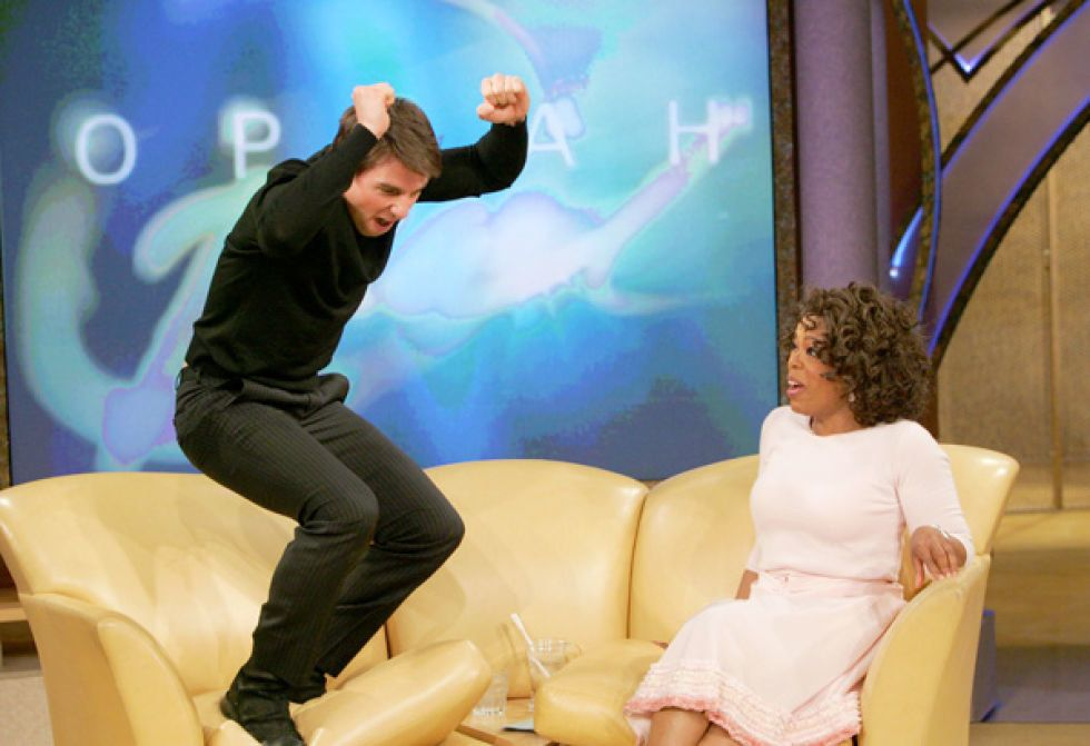 """11 years ago, Tom Cruise jumped on a couch during an appearance on """"Oprah."""""""