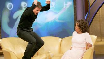 "11 years ago, Tom Cruise jumped on a couch during an appearance on ""Oprah."""