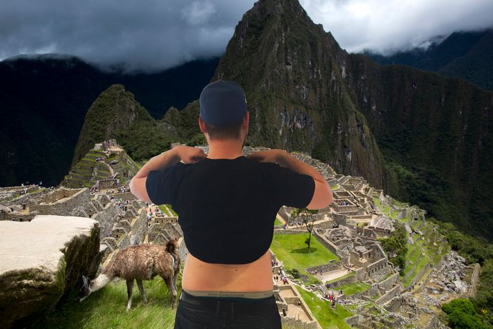 Beautiful Machu Pichu.