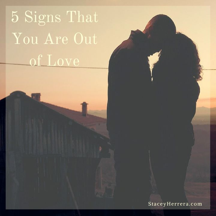 5 Signs That You Are Out of Love | HuffPost Life