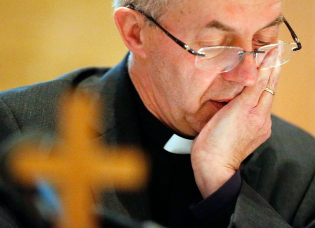 Anglicans (Archbishop of Canterbury Justin Welby pictured) have fallen from 44% of people