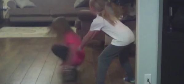 WATCH: Spinning Hoverboard From Hell Throws Little Girl At Wall