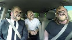 Chewbacca Mom Loses It Again With James Corden And J.J.