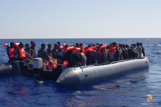 More than 3,770 people are estimated to have died trying to reach Europe during 2015.