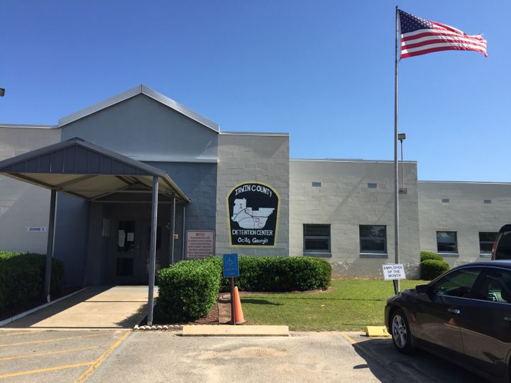 Some undocumented immigrants are held in Irwin County Detention Center, located three or more hours away from Atlanta.