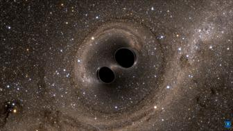 The collision of two black holes  - a tremendously powerful event detected for the first time ever by the Laser Interferometer Gravitational-Wave Observatory, or LIGO - is seen in this still image from a computer simulation released in Washington February 11, 2016. Scientists have for the first time detected gravitational waves, ripples in space and time hypothesized by Albert Einstein a century ago, in a landmark discovery announced on Thursday that opens a new window for studying the cosmos.    REUTERS/The SXS (Simulating eXtreme Spacetimes)/Handout via Reuters    FOR EDITORIAL USE ONLY. NOT FOR SALE FOR MARKETING OR ADVERTISING CAMPAIGNS. THIS IMAGE HAS BEEN SUPPLIED BY A THIRD PARTY. IT IS DISTRIBUTED, EXACTLY AS RECEIVED BY REUTERS, AS A SERVICE TO CLIENTS      TPX IMAGES OF THE DAY