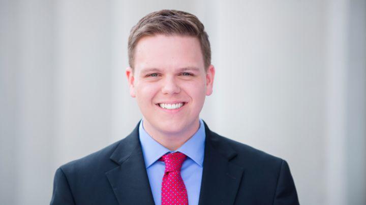 Mitchell McCoy works for KARK-TV in Little Rock, Arkansas.