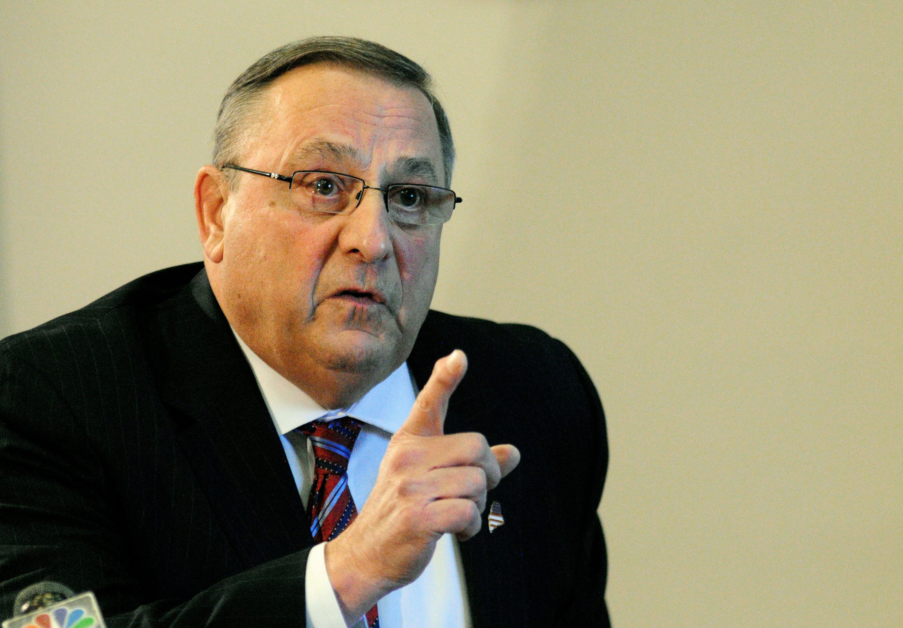 Maine Gov. Paul LePage has been repeating a story about a high school student who uses heroin, but the school says it isn't t