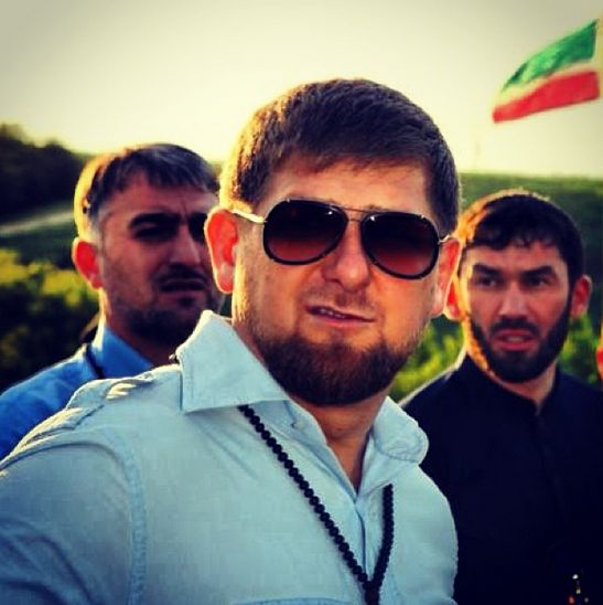 This is Chechen president Ramzan Kadyrov. He's a big fan of Instagram.