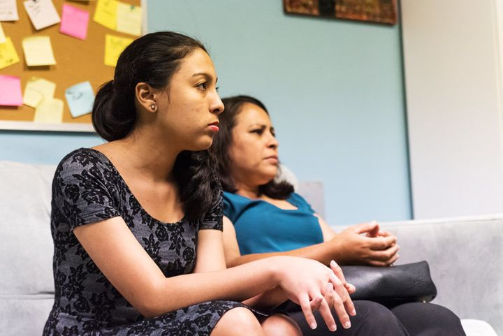 Kimberly Pineda Chavez and her mother, Lourdes, came to the U.S. from Honduras.