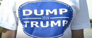 NEWPORT HARBOR HIGH SCHOOL IN COSTA MESA DUMP TRUMP SHIRTS DONALD TRUMP