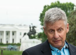Pay Attention To Libertarian Gary Johnson. He's Pulling 10% Against Trump And Clinton