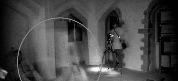 Ghost Busters Capture Spooky Image In Ruins Of Queen Isabella's Castle