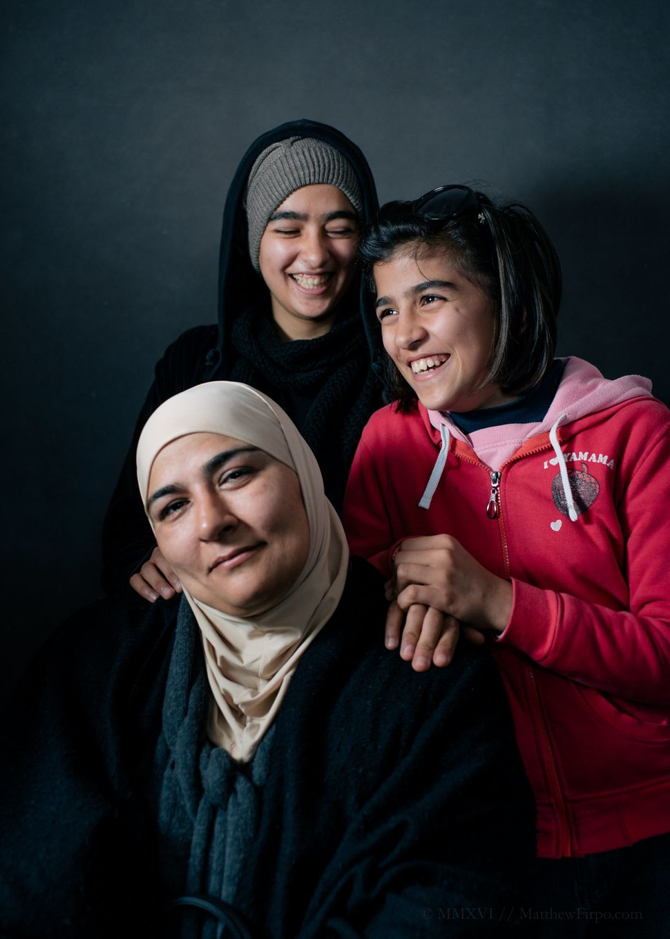 Ghoson and her two daughters fled Damascus two years after her husband -- a soldier in Bashar Assad's army -- disappeared. Bu