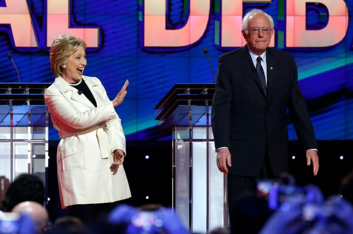 Democrats don't want towave goodbye to the Clinton-Sanders show.