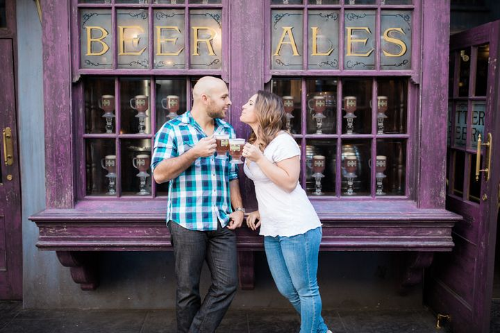 Butterbeer is perfect for an engagement toast.