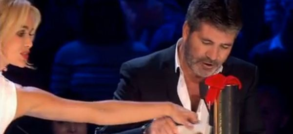 Simon Cowell's Risqué Amanda Holden Quip Has 'BGT' Fans In Stitches