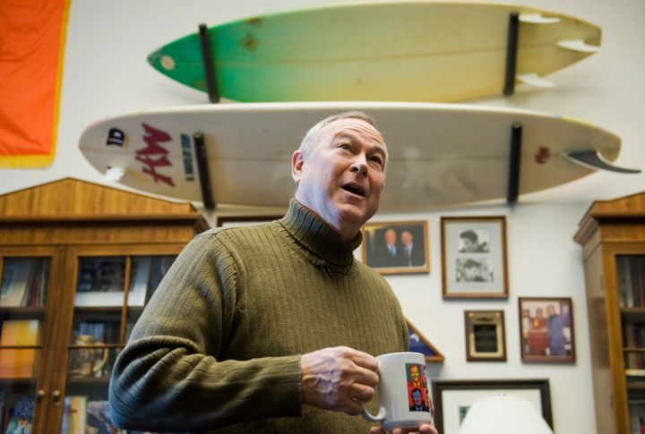 Rep. Dana Rohrabacher (R-Calif.) is an avid surfer. But he said the sport gave him shoulder pain and arthritis, and he t