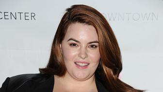 LOS ANGELES, CA - OCTOBER 15:  Model Tess Holliday attends the Dinner With a Cause 18th annual gala at JW Marriott Los Angeles at L.A. LIVE on October 15, 2015 in Los Angeles, California.  (Photo by Jason LaVeris/FilmMagic)