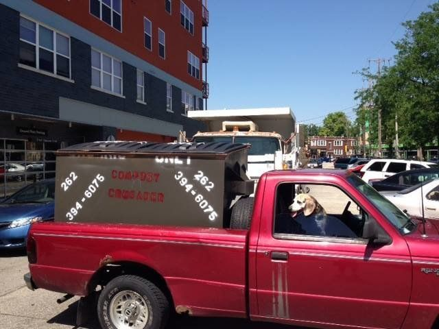 Tashjian's pickup truck.