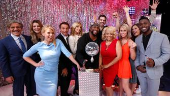 GOOD MORNING AMERICA -  The cast of the 22nd season of 'Dancing with the Stars' is revealed live on 'Good Morning America,' 3/8/16, airing on the ABC Television Network. 'Dancing With the Stars' Season 22 premieres Monday, March 21 (8:00-10:00 p.m. EST) on the ABC Television Network.'n(Photo by Heidi Gutman/ABC via Getty Images) 'nGERALDO RIVERA, MISCHA BARTON, JODIE SWEETIN, DOUG FLUTIE, MARLA MAPLES, WAYNA MORRIS, NYLE DIMARCO, KIM FIELDS, PAIGE VANZANT, VON MILLER, GINGER ZEE, ANTONIO BROWN