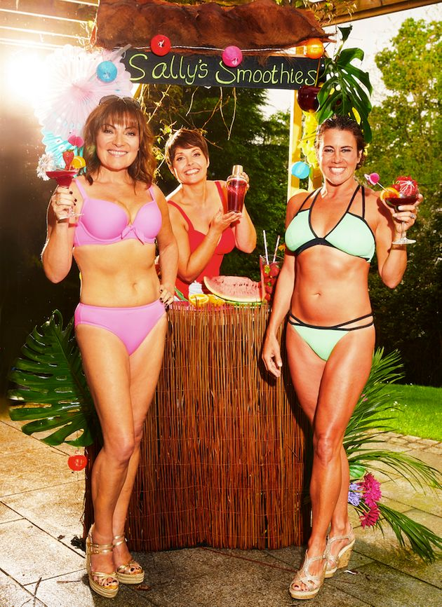 In the new show, Lorraine hopes to inspire women everywhere to hit the beach with