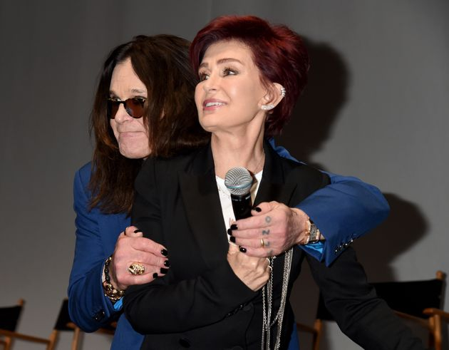 Ozzy and Sharon earlier this