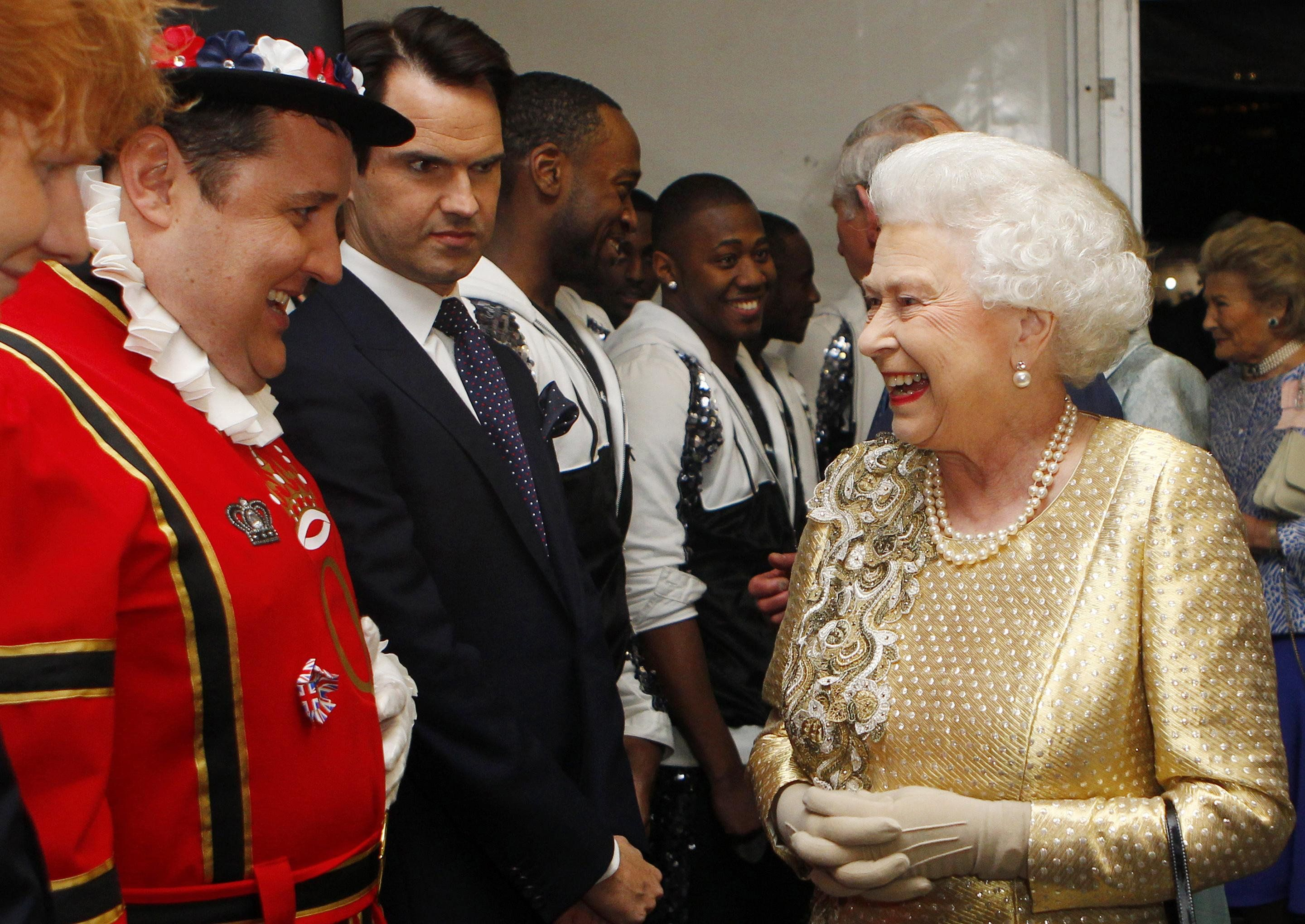Jimmy Carr Meeting The Queen Gets The Photoshop Battle It