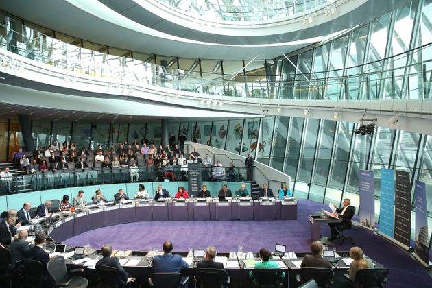 Khan attends his first Mayor's question time at City