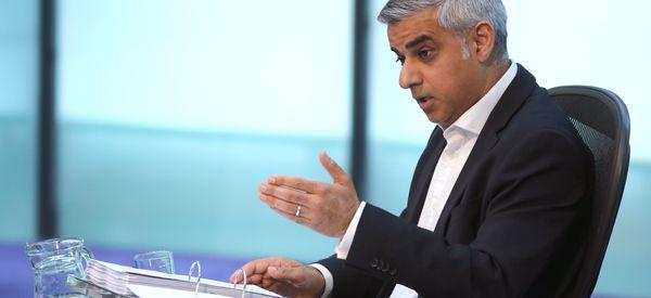 Sadiq Khan Serious Sticks The Knife Into Boris Johnson Over Housing Crisis