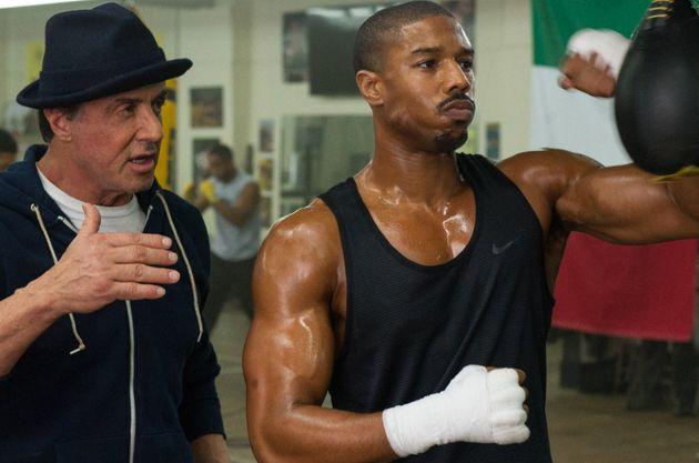 Sylvester Stallone and Michael B Jordan star in
