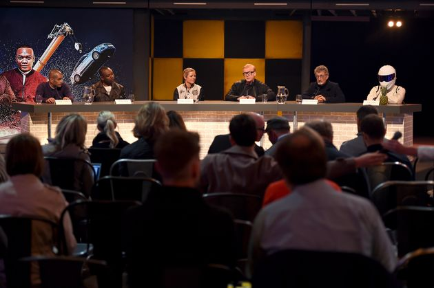 The new 'Top Gear' team launched the show to the world's