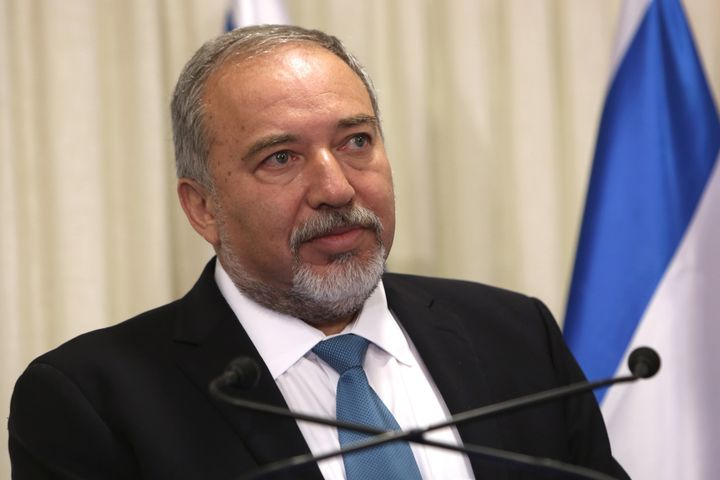 Lieberman's return to office has raised flags, given hispast criticism of Israel's Arab minority, U.S.-sponsored peace
