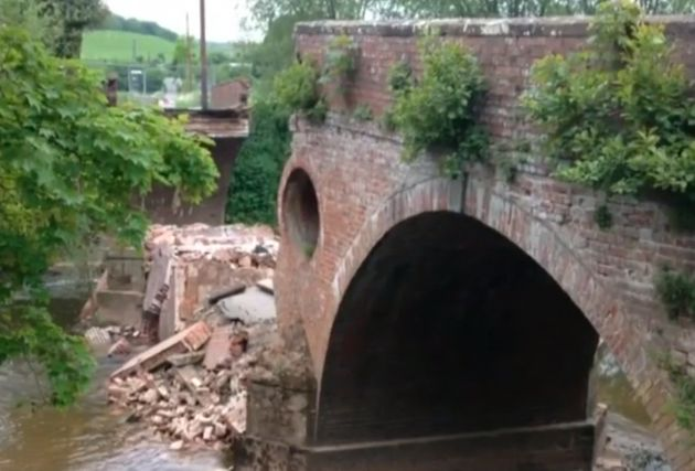 Derek Trow has been hailed a hero after saving 11 children from falling into the river after theEastham...