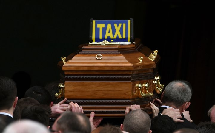 """Taxi drivers are <a href=""""http://www.ishn.com/articles/89794-nyc-taxi-workers-rally-for-stronger-protection-6-18"""">30 times mo"""