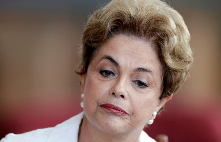 President Dilma Rousseff was suspended to face an impeachment trialearlier this month.