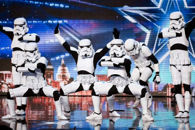 Boogie Storm at their original 'BGT'