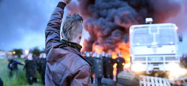 Dramatic Photos Capture The Chaos In France As Strikes Escalate