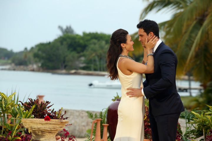 "Andi Dorfman gave her final rose to Josh Murray on the season finale of ""The Bachelorette"" in 2014."