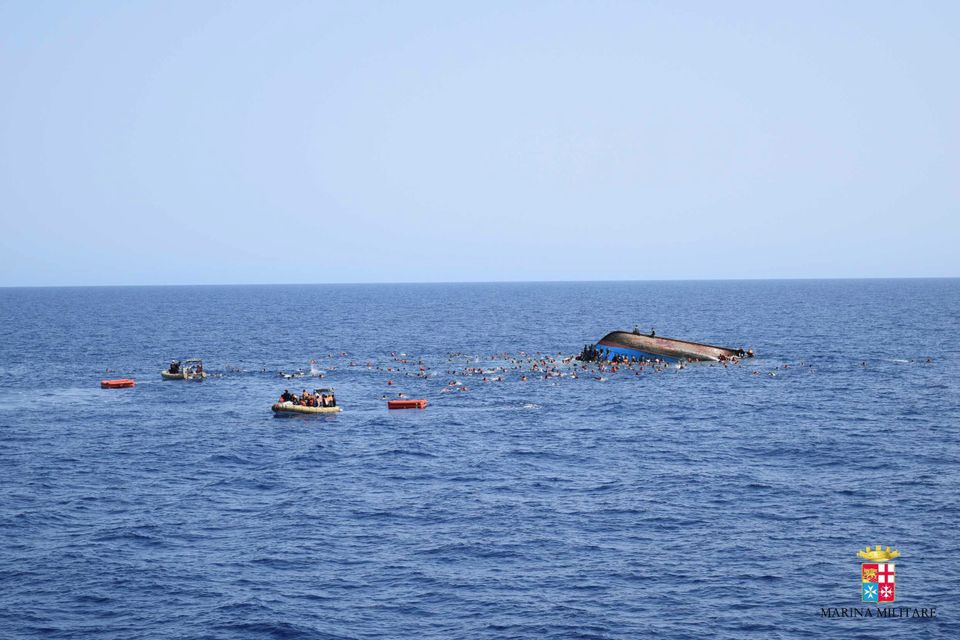 Some5,600 migrants were rescued by Italy's coastguard on Monday and