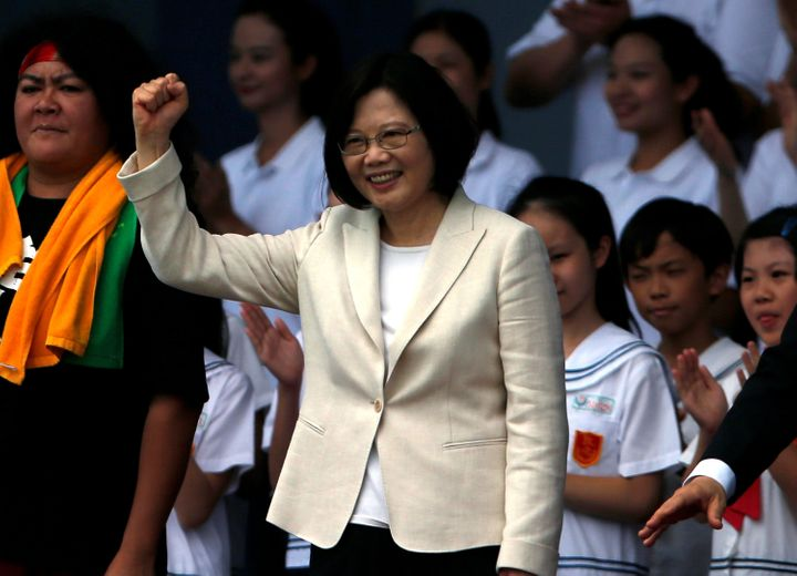 """An opinion piece in Chinese state media denounced Taiwanese President Tsai Ing-wen's """"extreme"""" policies, and tied them to her being single."""