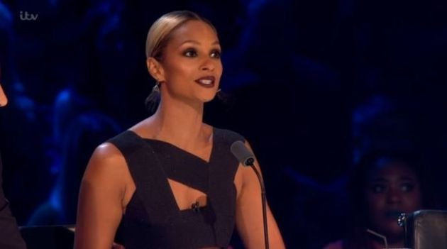 Alesha Dixon sparked controversy on Wednesday's 'Britain's Got